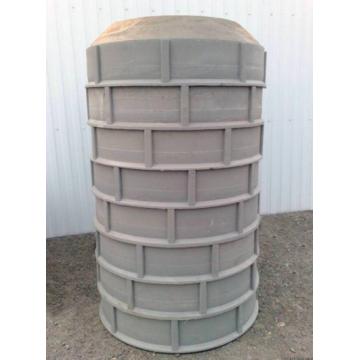 Песчано-полимерный колодец высота 2 м, D=750 мм