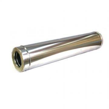 Сэндвич-труба 150/220 1м. 1/0,5мм нерж