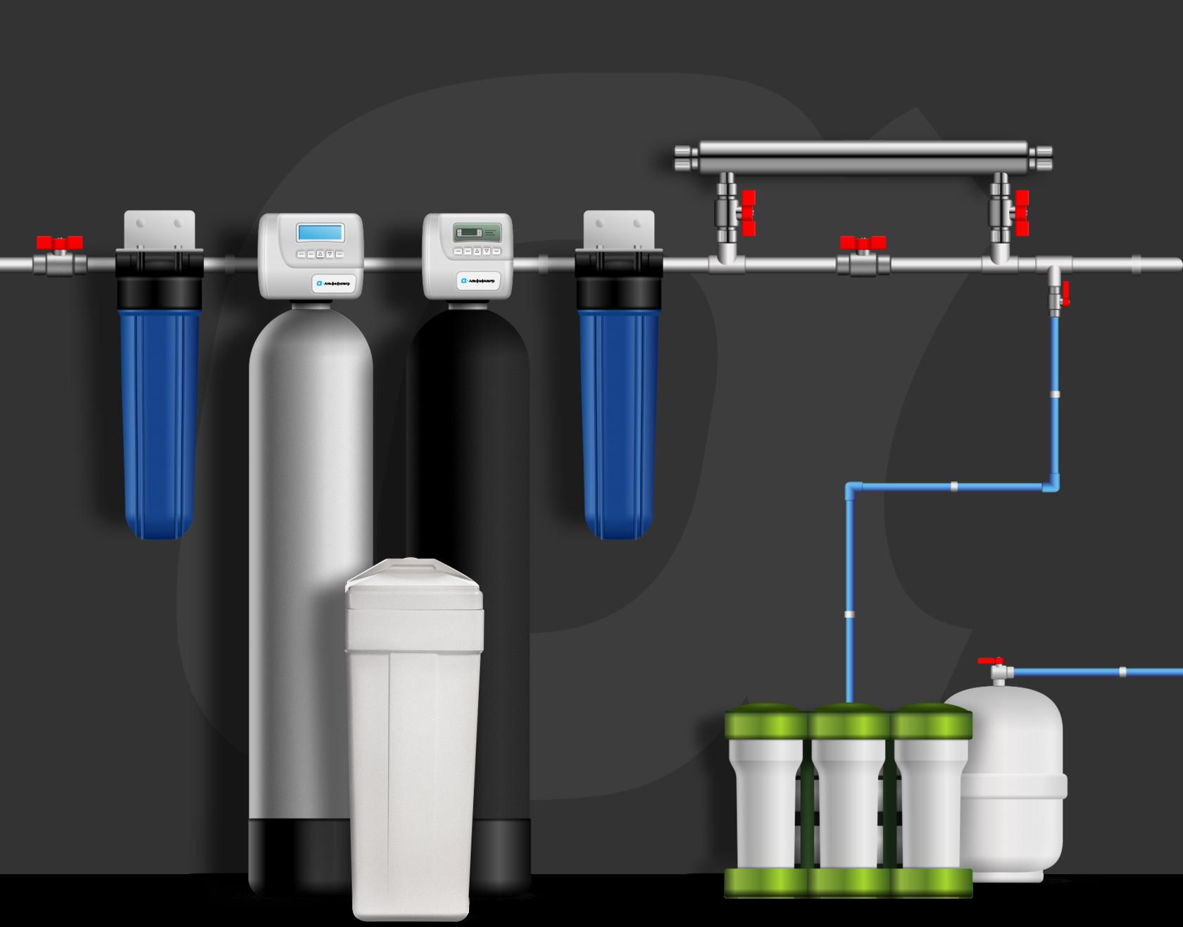 Фильтр для воды, очистка воды, водоочистное оборудование в Сыктывкаре, Ухте